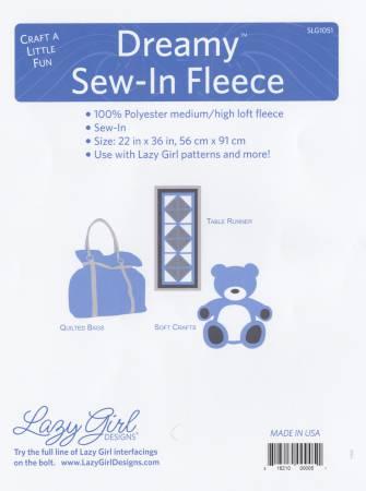 Lazy Girl Dreamy Sew-in Fleece 45in x 36in