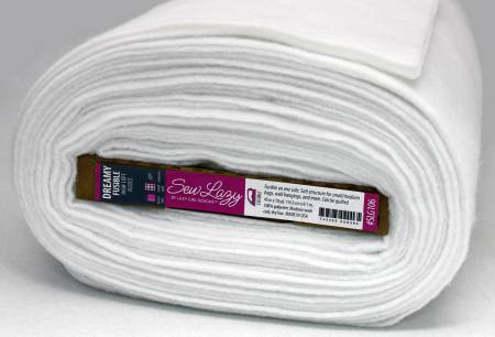 Sew Lazy Dreamy Fusible Fleece Interfacing 45in x 10yd