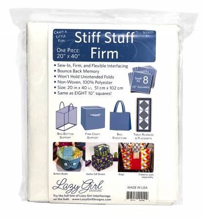 Stiff Stuff 20in x 40in Pack