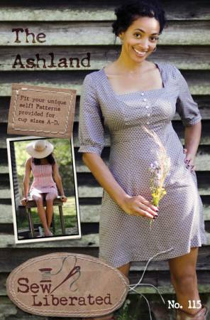 Ashland Dress Pattern by Sew Liberated