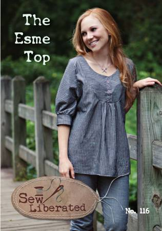 Esme Top Pattern by Sew Liberated