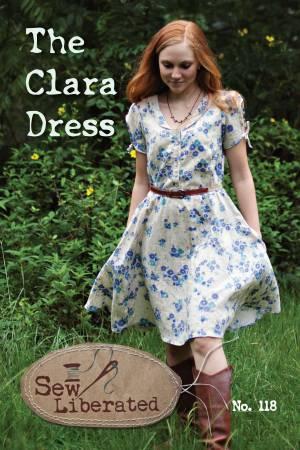 Clara Dress Pattern by Sew Liberated