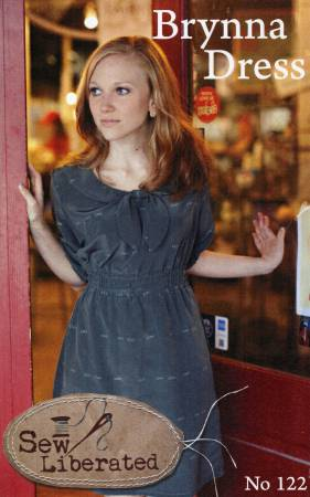 Brynna Dress Pattern by Sew Liberated