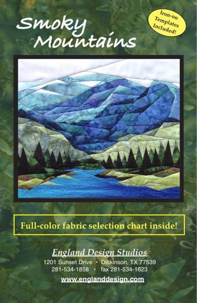 Smoky Mountains- pattern - freezer paper