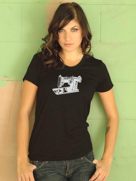 Sewing Machine 2 T-Shirt Black XX-Large