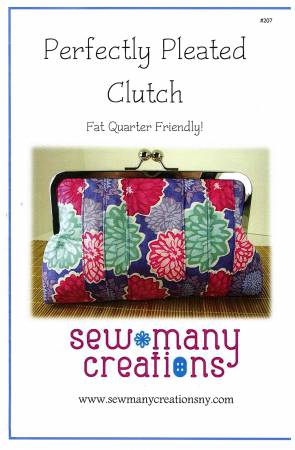Perfectly Pleated Clutch