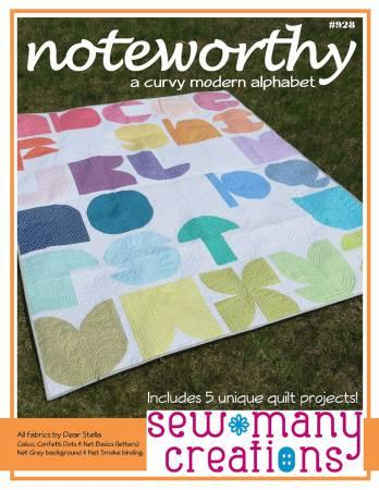 Noteworthy Quilt Pattern by Sew Many Creations
