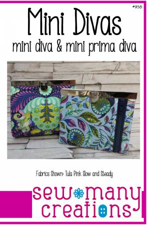 Mini Divas Bag Pattern SMC938