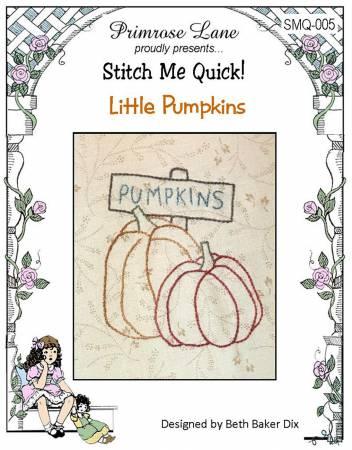 Stitch Me Quick Little Pumpkins