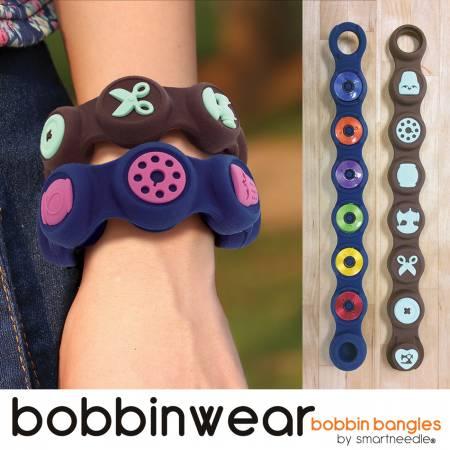 BOBBIN WEAR blue - Bobbin holder/bangle