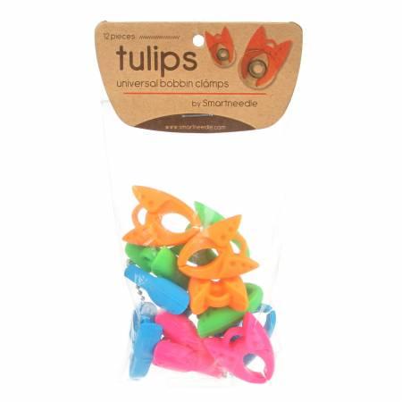Tulips 12 Pcs - Bobbin Clamps