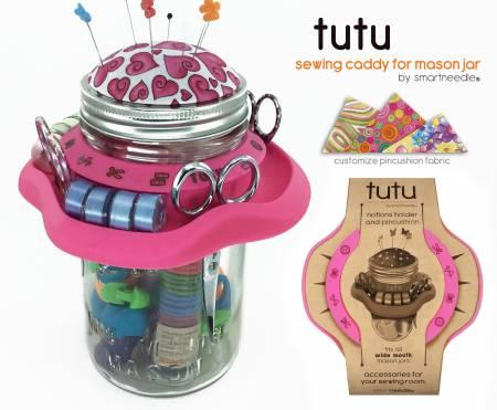 TUTU - Mason Jar sewing caddy
