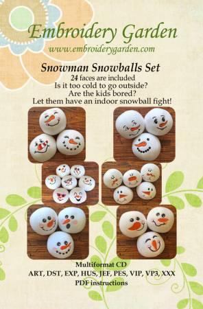 Snowman Snowball Set