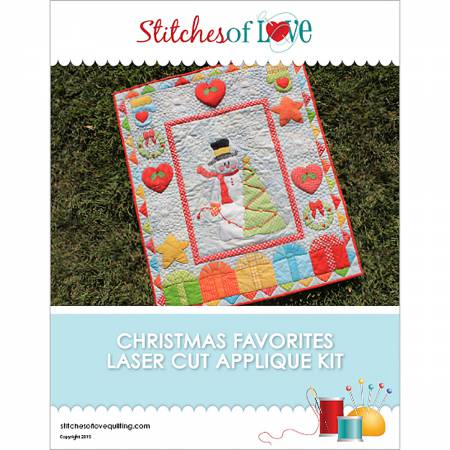 Christmas Favorites Applique Pattern