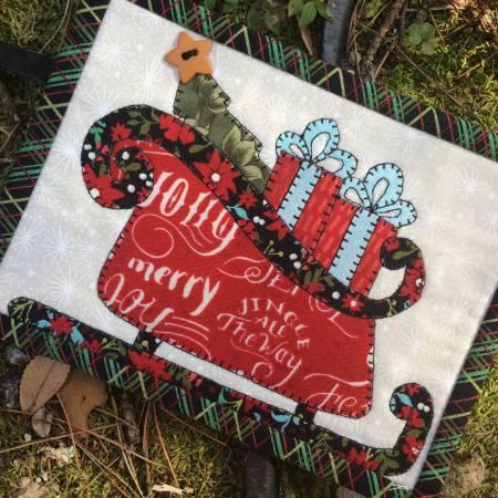 Jingle All The Way Mug Rug Pattern