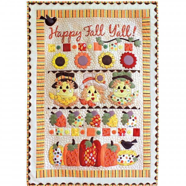 Happy Fall Y'all Laser Cut Kit