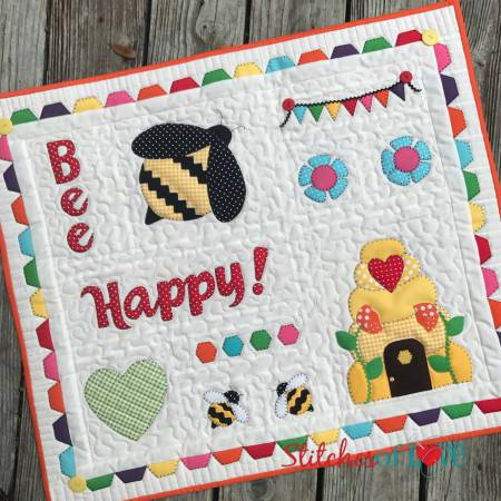 Stitches of Love The Beehive Sampler Laser Cut Shapes Kit SOL6519