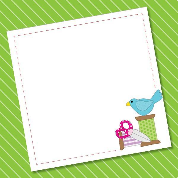 Spoolie Bird Charm Pad