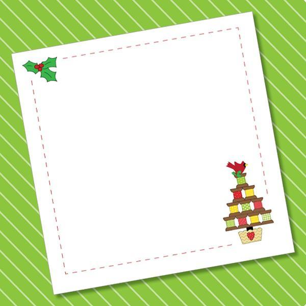 Spoolie Christmas Charm Pad