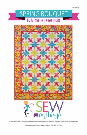 Sew on the Go Spring Bouquet Pattern
