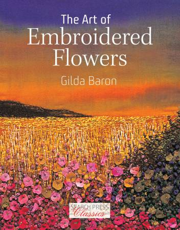 Art of Embroidered Flowers - Softcover