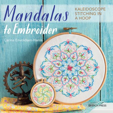 MANDALAS TO EMBROIDER - BOOK - SEARCH PRESS