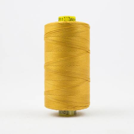 Spagetti Solid 12wt Cotton Thread  400m Rich Gold