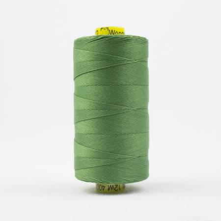 Spagetti Solid 12wt Cotton Thread  400m Medium Fern Green