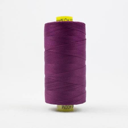 Spagetti Solid 12wt Cotton Thread  400m Deep Magenta