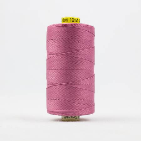 Spagetti Solid 12wt Cotton Thread  400m Dusty Pink