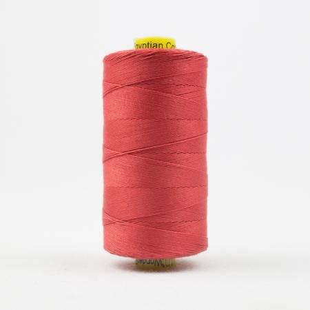 Spagetti Solid 12wt Cotton Thread  400m Coral