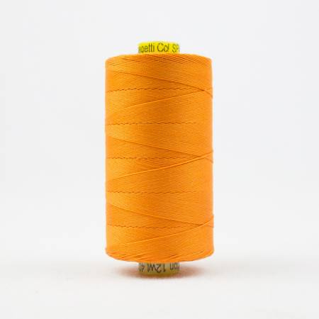Spagetti Solid 12wt Cotton Thread  400m Orange