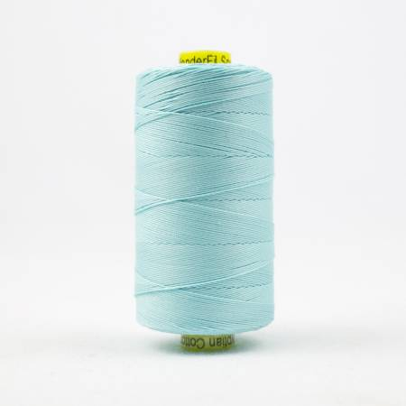 Spagetti Solid 12wt Cotton Thread  400m Aqua