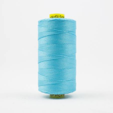 Spagetti Solid 12wt Cotton Thread  400m Bright Aqua
