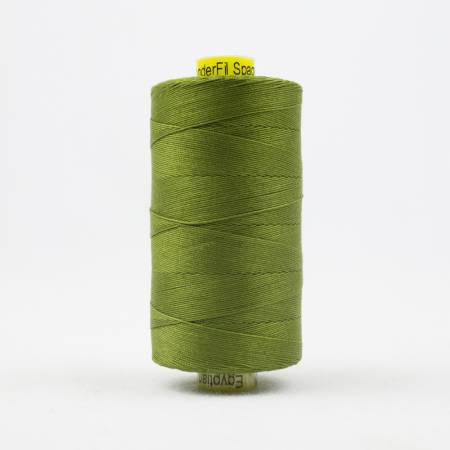 Spagetti Solid 12wt Cotton Thread  400m Olive