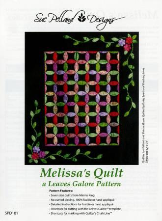 Sue Pelland Melissa's Quilt pattern