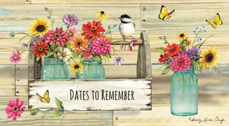2 Year Pocket Planner - Sandy Lynam Clough Dates to Remember