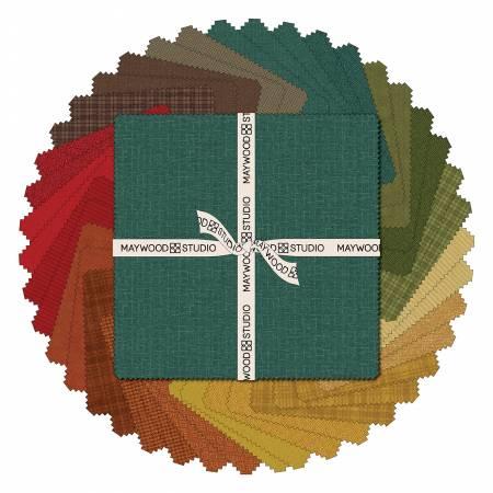 Woolies Flannel 10 Squares by Bonnie Sullivan - Desert Sunset