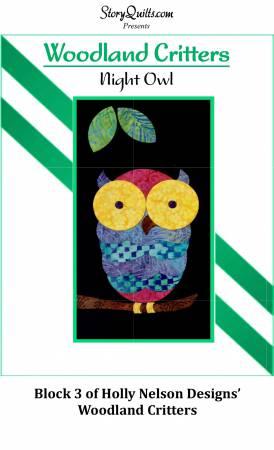 Woodland Critters Night Owl