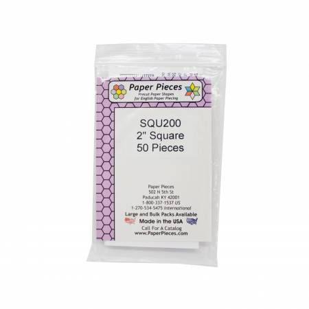 Paper Piece Square Pack 2in - 50pc - EPP Pieces