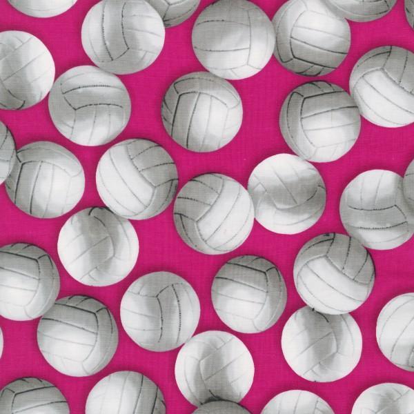 Pink Volleyballs