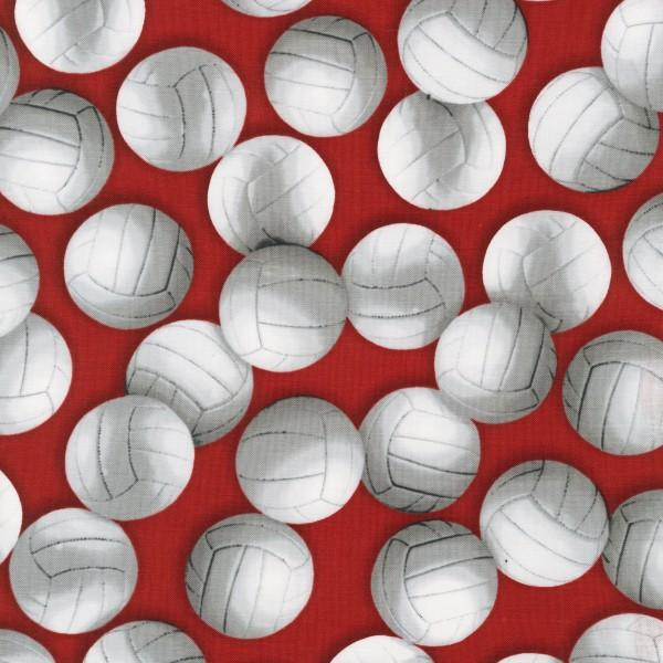 Red Volleyballs