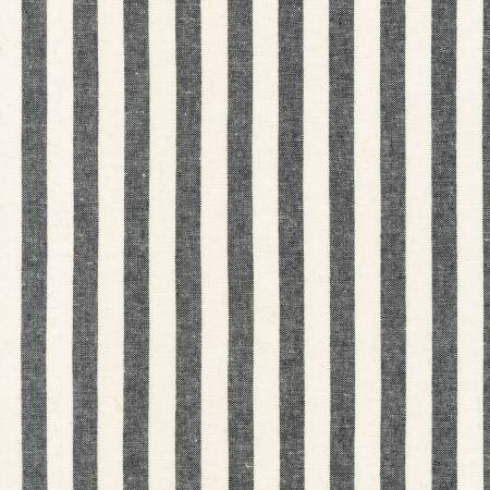 Essex Yarn Dyed Classic Wovens - Black Stripe