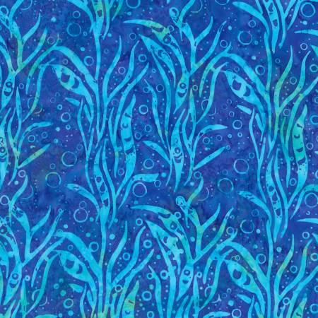KAUF- Coral Reef Batik Blue Seaweed