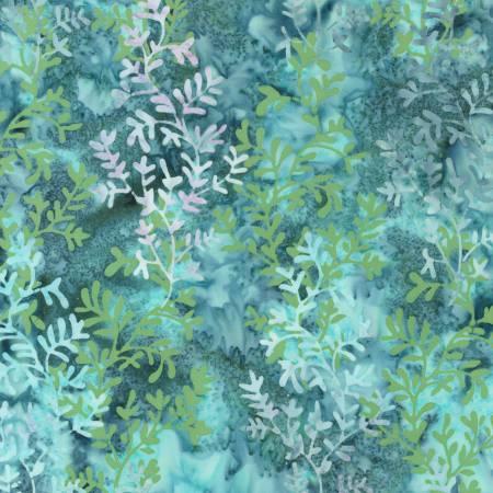 Sunrise Vista Batik - Aqua - by Robert Kaufman Fabrics