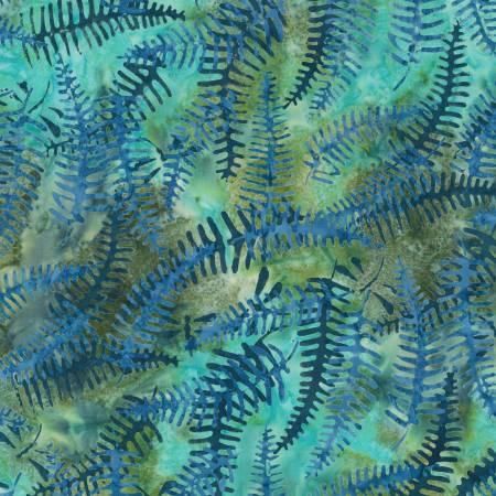 Sunrise Vista Batik - Fern Meadow - by Robert Kaufman Fabrics