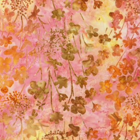 Sunrise Vista Batik - Honeysuckle - by Robert Kaufman Fabrics