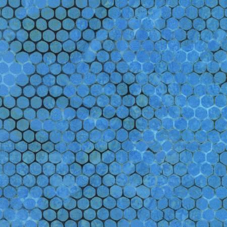Azula Batiks Honeycomb - Blue - 19778-4
