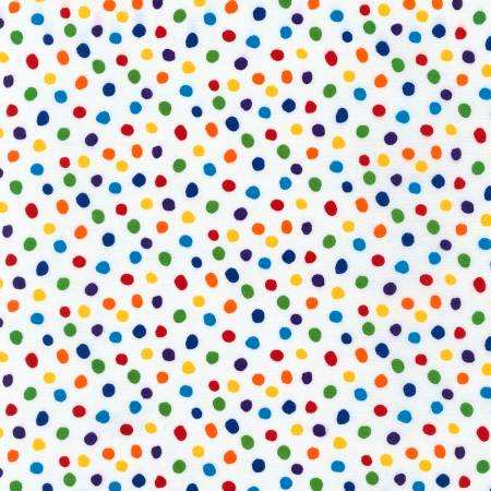 Dot & Stripe Delight - Rainbow Dots 19934263