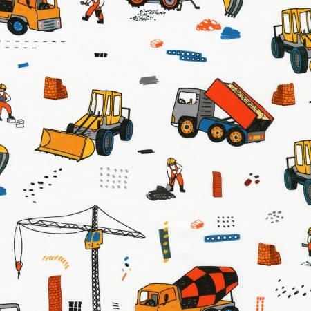 Build Bang Boom Trucks White #SRK-20385-1